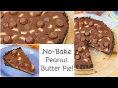 No Bake Peanut Butter Pie! - Jane's Patisserie