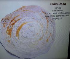 Bala's plain dosa