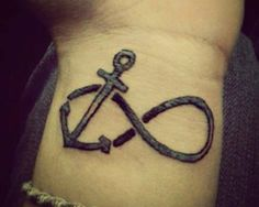 Anchor+infinity+tattoo+signs