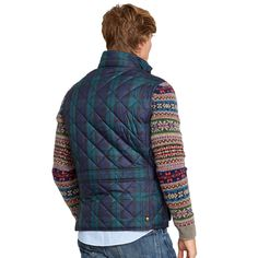 e2ce4053c9fe7e Blackwatch Quilted Vest - Nylon   Down Jackets   Outerwear - RalphLauren.com
