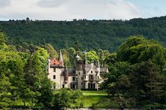 No. 13: Aldourie Castle and Estate, Scotland  Located on the southern shores of the infamous Loch Ness, you can rent this entire castle out for yourself and prance around your grounds pretending you're Kate Middleton for a day.