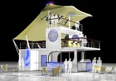 Pop-Up Shipping Container Nightclubs