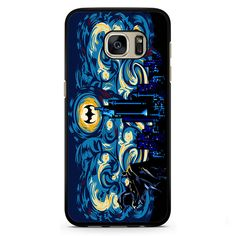 Batman Starry Knight Phonecase Cover Case For Samsung Galaxy S3 Samsung Galaxy S4 Samsung Galaxy S5 Samsung Galaxy S6 Samsung Galaxy S7