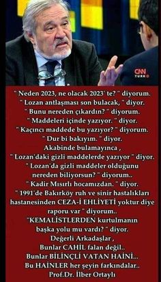 İlber Ortaylı Crazy People, Good People, Turkish People, Olay, Historian, Did You Know, Karma, Periodic Table, Divorce