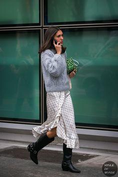 Milan Fashion Week Fall 2017 Street Style: Diletta Bonaiuti
