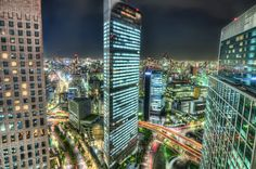 Tokyo By Night - Would love to visit Japan