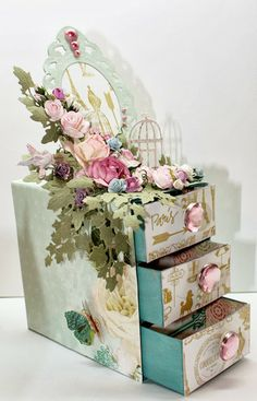 FULL TUTORIAL- Flying Unicorn: WCYDW (What Can You Do Wednesday) - A Chest of Drawers.MY FIRST PIN!!! SO THRILLED TO BE BACK TO OUR BEAUTIFUL< WONDERFUL BOARD> GOD BLESS SUSAN!!!