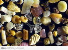 Sand, under 250x microscope