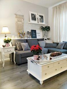 Corner sofa-bed with storage IKEA FRIHETEN Skiftebo dark grey in our living room. #CornerSofa