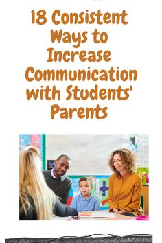 · Do you work in education?· Are you looking for ways to communicate more consistently with your students' parents? · Do you think it is important for parents to be informed about their kids' schools?· Do you think consistent and organized ways of communicating are important in education? If you answered YES to these questions, read this article for ideas and strategies to increase communication with your students' parents!