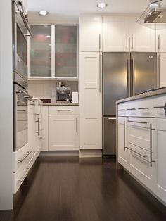 like door style not uppers much  Frosted Glass Cabinet Door Design, Pictures, Remodel, Decor and Ideas - page 11