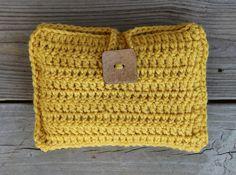 Crochet make up bag