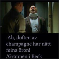 Champagne humor!