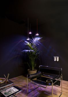 Technology at the service of nature - Stylish and efficient LED grow lights for indoor plants; for the growth of plants in places without sunlight. Growing Plants Indoors, Grow Lights For Plants, Best Led Grow Lights, Italian Lighting, Indoor Plants, Indoor Gardening, Light Art, Lounge, Chair