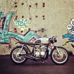 Honda CB550 Cafe Racer by E3MC #motorcycles #caferacer #motos | caferacerpasion.com