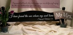 Chalkboard Stand from Foot Board (My Repurposed Life) Furniture Projects, Furniture Design, Diy Furniture, Chalkboard Stand, Bed Boards, Vinyl Quotes, Painted Boards, Repurposed Furniture, Vintage Decor