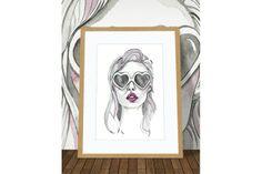 I heart you! by Lilian Fairall Wall Candy, My Heart, Design