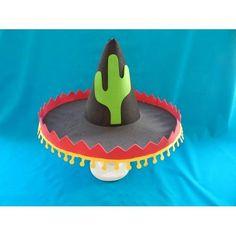 como fazer chapeu mexicano de papel - Pesquisa Google