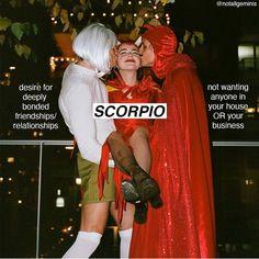 Scorpio Funny, Astrology Scorpio, Virgo And Scorpio, Scorpio Zodiac Facts, Scorpio Traits, Scorpio Girl, All Zodiac Signs, Zodiac Memes, Scorpio Compatibility