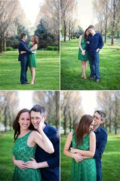 Engagement Photo Friday | landlocked bride® | midwest + mountain west wedding inspiration