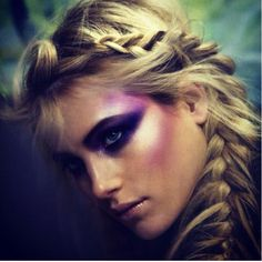 """Get a little dramatic with shimmer eyeshadow. Apply above cheekbone and up towards the temple for a look that says """"I'm ready to dance the night away""""."""