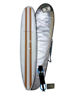 8'0 Beginner Surfboard Bundle - Surfboards Direct