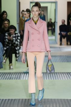 cool color combo by Prada AW15/16