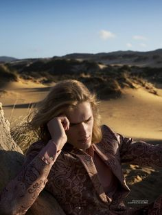 Ton Heukels 2016 Editorial LOfficiel Hommes Switzerland 002 800x1062 LOfficiel Hommes Switzerland Visits the Desert for Chic Spring Editorial