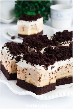 Notice: Undefined variable: desc in /home/www/weselnybox.phtml on line 23 Sweet Recipes, Cake Recipes, Dessert Recipes, Mini Cakes, Cupcake Cakes, Just Desserts, Delicious Desserts, Polish Recipes, Eat Dessert First