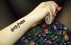black light tattoo harry potter #harrypotter #potterhead #tattoo