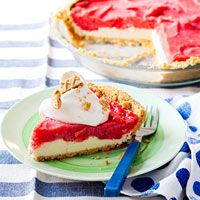 peanut butter and jelly ice cream pie