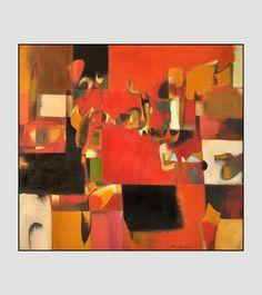 Conrad Marca-Relli   Big bright art   Pinterest