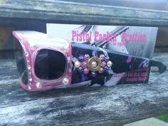 Pink Fan Fares with Muddy Girl Camo, 9mm completed in Pink purple and White.