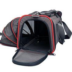Petsfit 16x9x9 Inches Comfort Expandable Foldable Travel Dogs Carriers Pet Carrier Soft-sided Petsfit http://www.amazon.com/dp/B00VSMCG4C/ref=cm_sw_r_pi_dp_lPcEvb0ZRW6DC