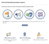 Facebook launches marketing developer program