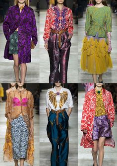Paris Fashion Week Womenswear Print Highlights Part 1 – Spring/Summer 2016 #driesvannoten
