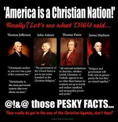 God Is Hate: America Is A Christian Nation?