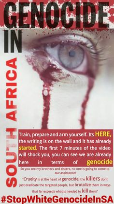 WARNING : VIDEO: GENOCIDE IN SOUTH AFRICA HAPPENING RIGHT IN FRONT OF OUR EYES  White Genocide in South Africa #StopWhiteGenocideInSA