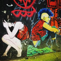 Dos à dos ! #pochoir #streetart #pixelart #art #france #graffiti #graff #instagraffiti #instagraff #urbanart #wallart #artist #parisart #iloveparis #frenchart #streetartdaily #worldstreetart #graphitiart #illustration #punk #paris13 #dosados