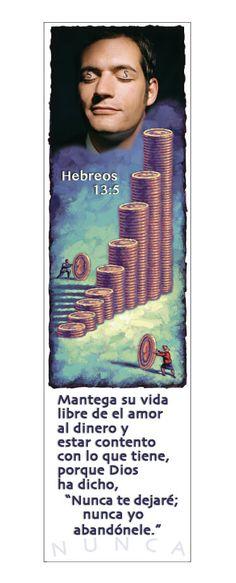 — Hebreos 13:5 (Marcadores en Español)
