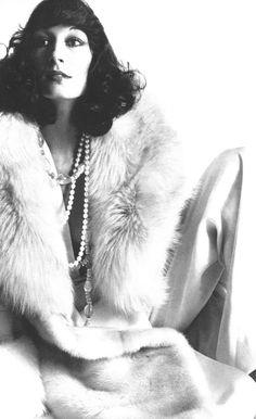 Anjelica Huston - Vogue by Irving Penn, November 1972