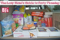 The Lazy Mom's Guide to Party Planning - My Mommy Brain