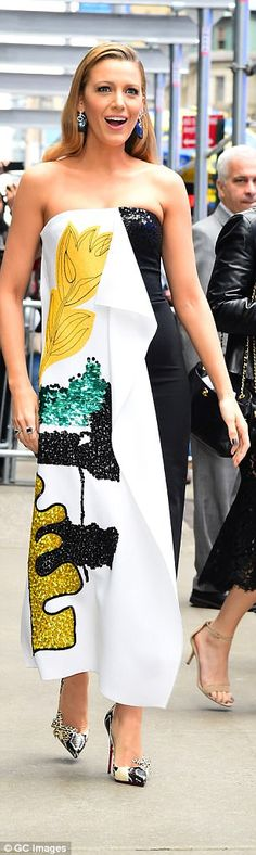 Forget the Monday Blues - Blake Lively started her week on top form.