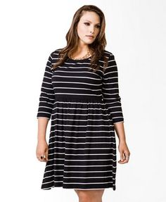pity. horizontal stripes are quite unflattering for plus sized women.  like me.  :))