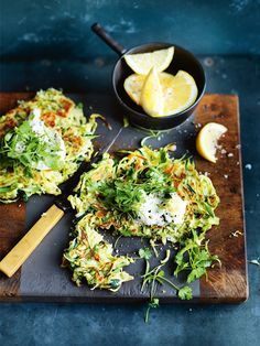 zucchini and brussels sprouts fritters | healthy recipe ideas @xhealthyrecipex |