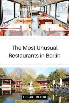 If you don't know these amazing places, you should try them! Some of Berlin's most unusual restaurants. // #berlinguide #berlin #berlincity #travelguide #healthyeating #food #cityguide #restaurantguide #different #food