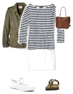 """""""Capsule 18"""" by helen-marie-3 on Polyvore featuring Uniqlo, Velvet by Graham & Spencer, J.Crew, Keds, Birkenstock and Calvin Klein"""