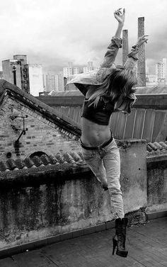 Dancing on rooftops: