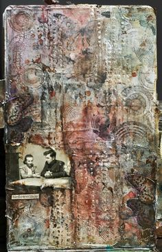 art. journal- mix media