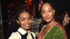 """Textured Hair, Don't Care! Tracee Ellis Ross and the Women of """"Blackish"""" Shake It Out - Vogue"""